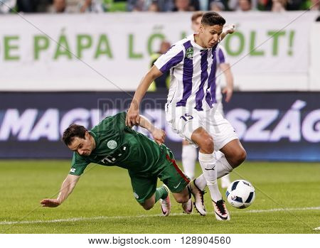 Hungarian Cup Final Football Match Between Ujpest Fc And Ferencvarosi Tc