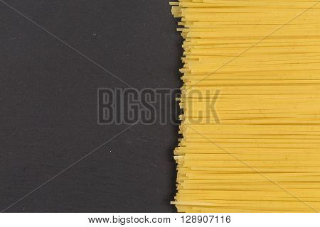 Raw Italian Spaghetti Pasta