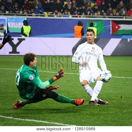 Uefa Champions League Game Shakhtar Vs Real Madrid