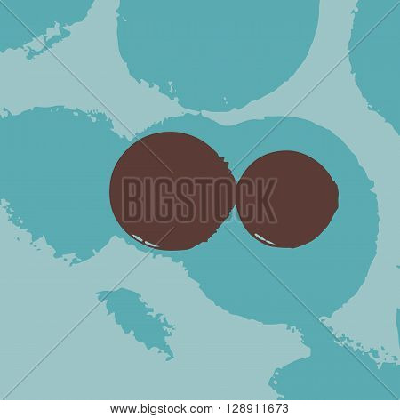 Abstract color grunge background abrasions and stains.