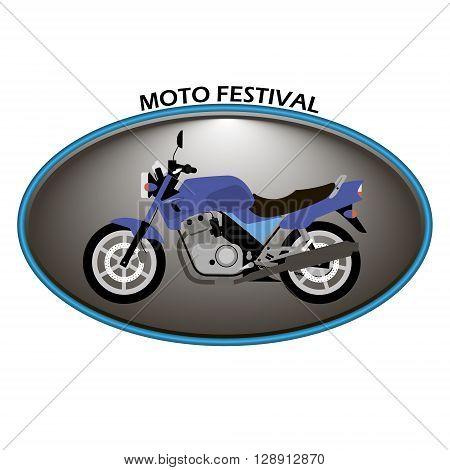 moto logo on a white background. vector logo