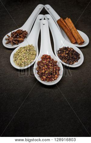 Five Spice With Szechuan Peppercorns Focus