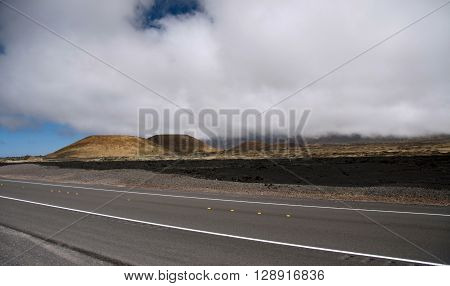 Highway 200 Near The Turn To Observation