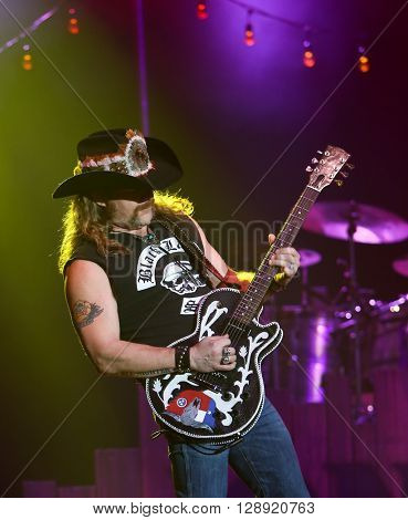 HUNTINGTON, NY-JAN 8: Musician Terry Lee Palmer performs onstage during the