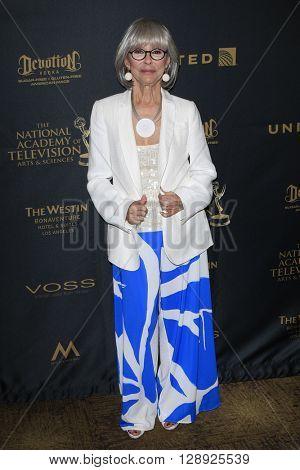 LOS ANGELES - May 1: Rita Moreno at The 43rd Daytime Emmy Awards Gala at the Westin Bonaventure Hotel on May 1, 2016 in Los Angeles, California