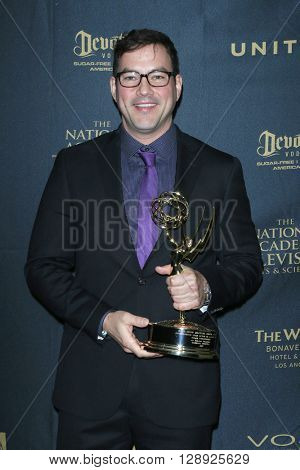LOS ANGELES - May 1: Tyler Christopher at The 43rd Daytime Emmy Awards Gala at the Westin Bonaventure Hotel on May 1, 2016 in Los Angeles, California
