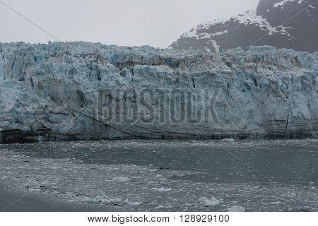 A Massive Glacier in Hubbard Bay Alaska