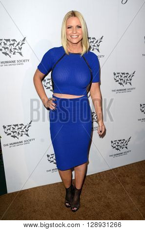 LOS ANGELES - MAY 7:  Carrie Keagan at the Humane Society Of The United States LA Gala at the Paramount Studios on May 7, 2016 in Los Angeles, CA