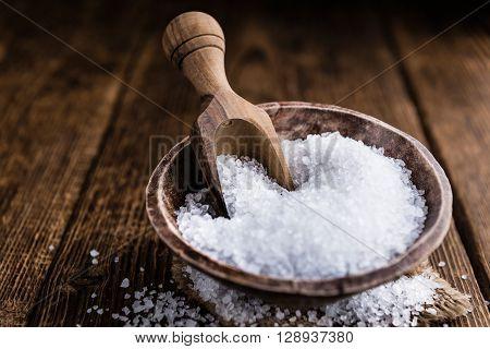 Portion Of Coarse Salt