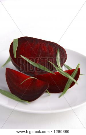 Cooked Beets With Fresh Tarragon