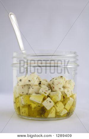 Feta Salad In Olive Oil