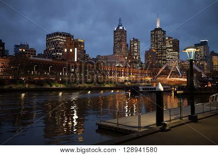 City Of Melbourne Australia