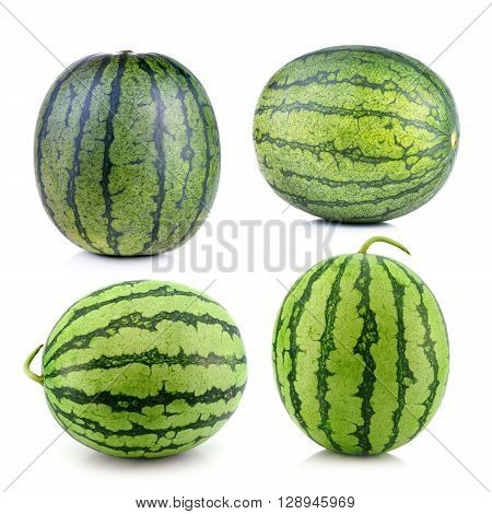 water melon isolated on a white background