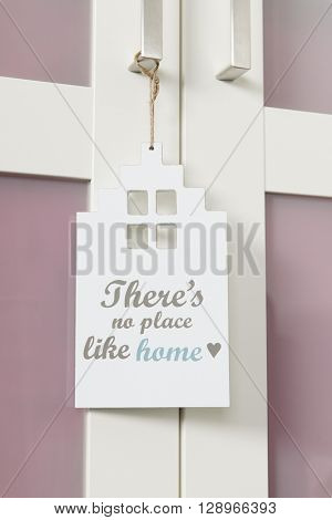 door hanger with no place like home
