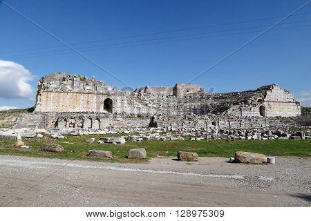 Miletus Ancient City View