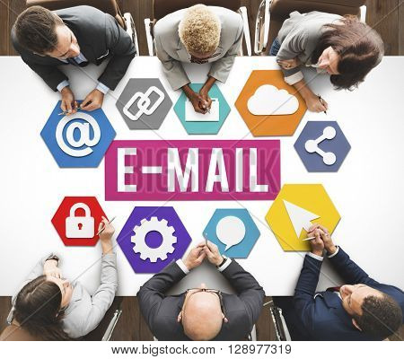 E-mail Correspondence Communication Digital Online Concept