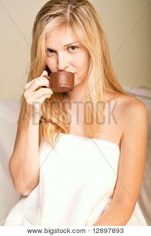 Beautyful Woman In Spa