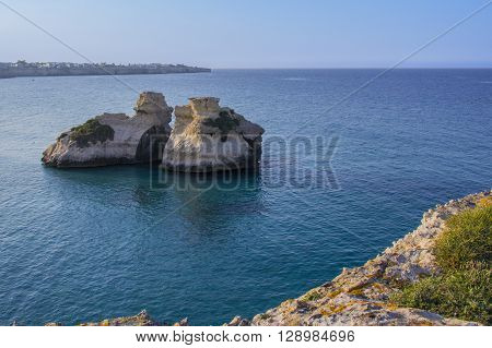 Sea Salento: Torre dell'Orso the two sisters