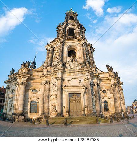 catholic church in Dresden