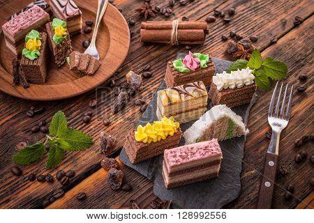 Delicious Mini Cakes