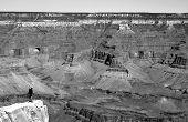 Solitude At The Edge. Grand Canyon, Arizona.
