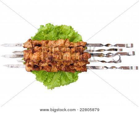 Shish Kebab op spiesjes