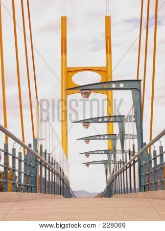 Suspension Bridge Walkway