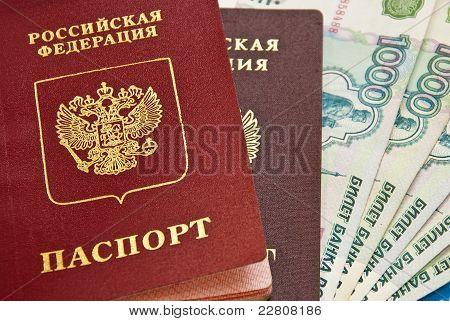 Russian Money And Passports