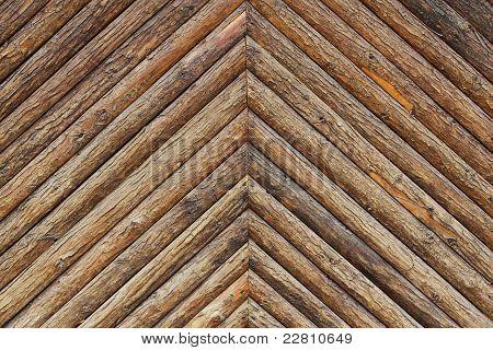 Rough Hewn  Wooden Background