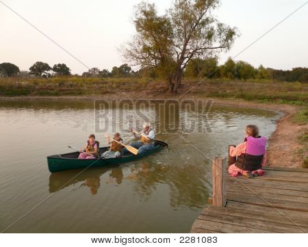 Riding In The Canoe