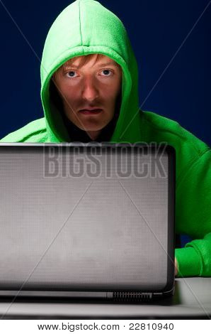 young hacker