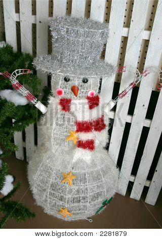 Top Hat Snowman