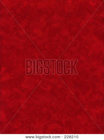 Textura serie - terciopelo rojo