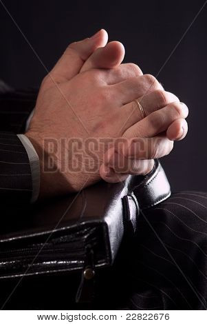 The Hands Of A Businessman