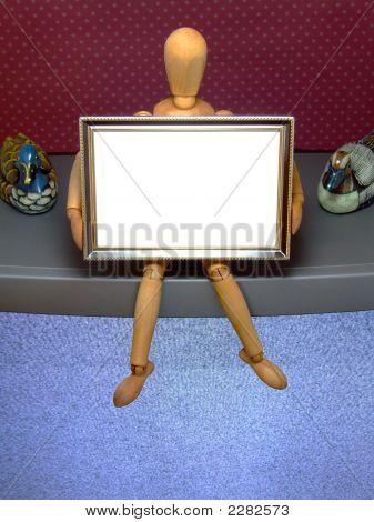 Manikin With Frame /E