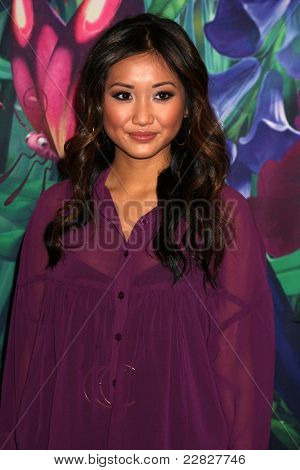 LOS ANGELES - AUG 19:  Brenda Song at the D23 Expo 2011 at the Anaheim Convention Center on August 19, 2011 in Anaheim, CA