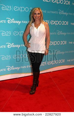 LOS ANGELES - AUG 19:  Leigh-Allyn Baker at the D23 Expo 2011 at the Anaheim Convention Center on August 19, 2011 in Anaheim, CA