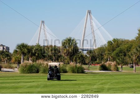 Bridge And Golf Course