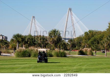 Bridge And Golf Course