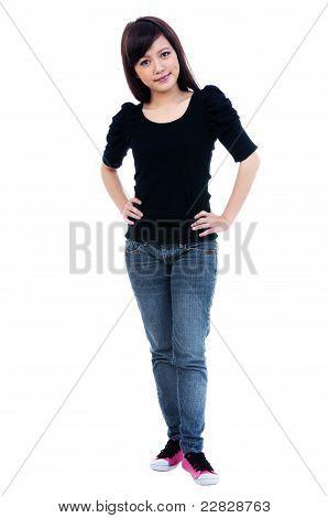 Cute Young Woman Posing