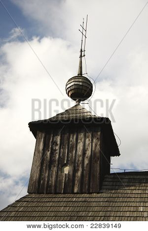 european historic church belfry