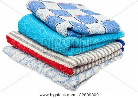 four bath towels