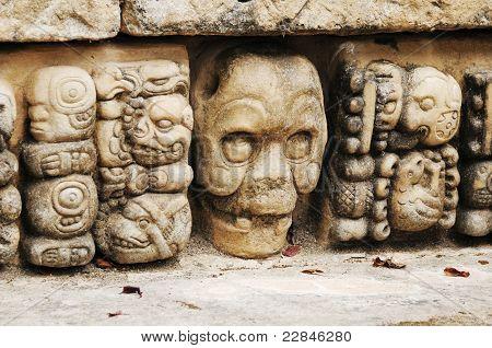 Archeological Park In Copan