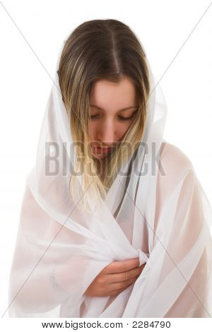 Young Woman In Veil