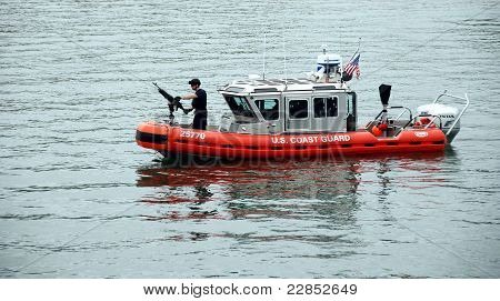 US Coast Guard Patrol