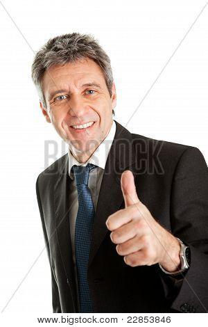 Portrait of successful business man