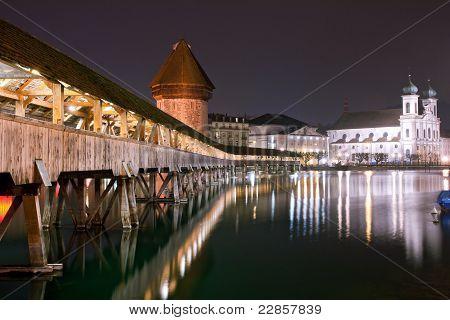 Chapel Bridge Switzerland