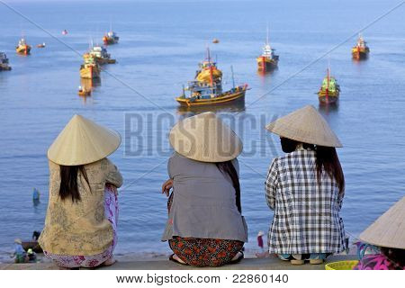 Vietnamese Fishing Port