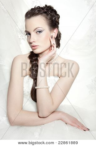 The Beautiful European Bride