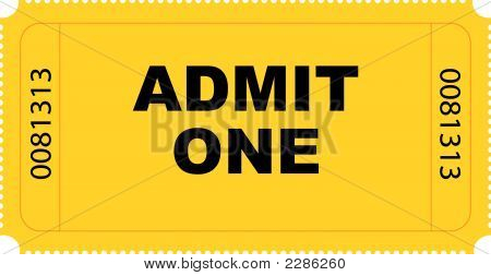 Entry Ticket Vector